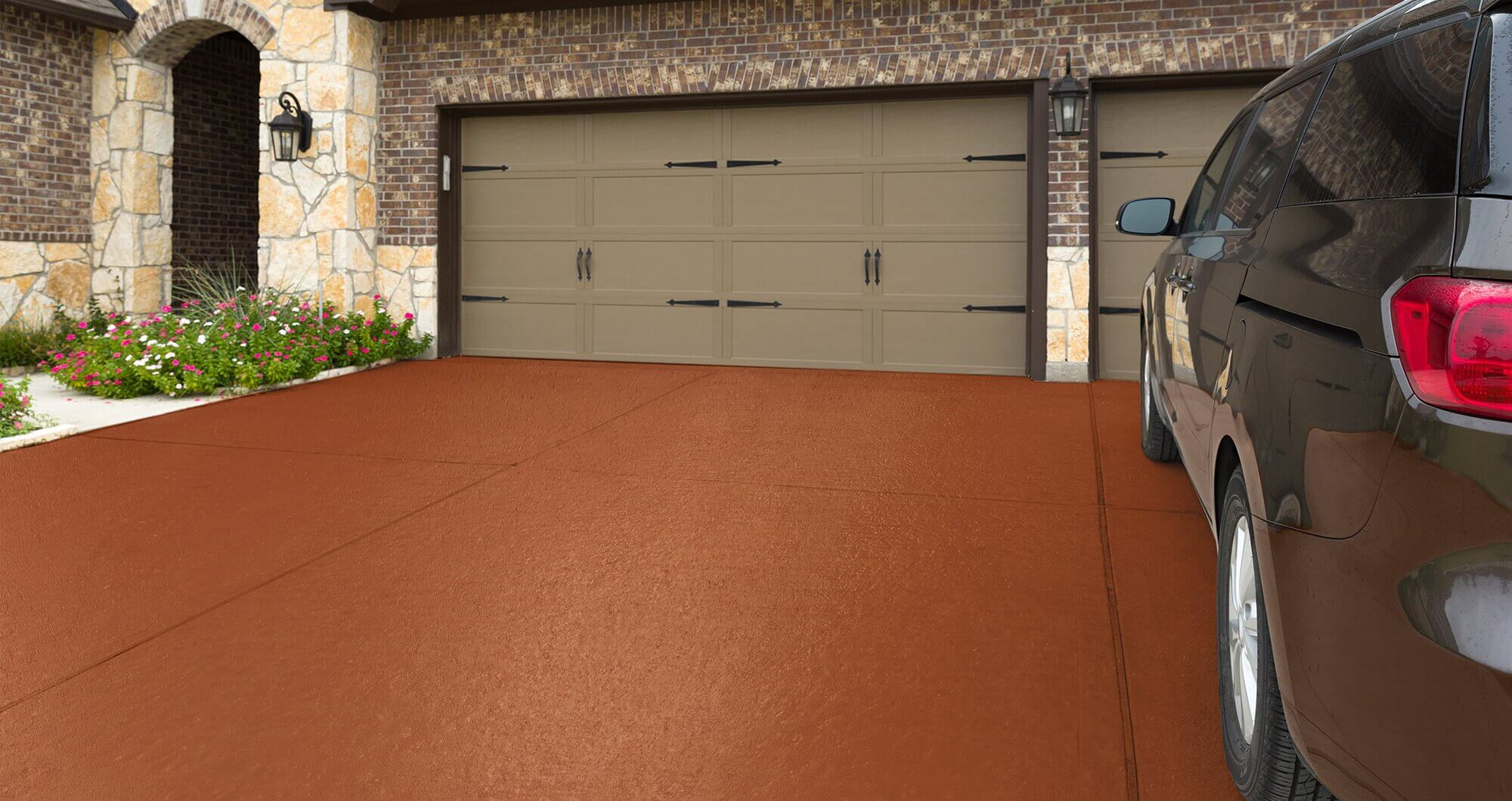 Concrete Driveway Garage Premium Driveway Paint Fast